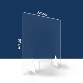 Hygiaphone 76x67 cm vitre...